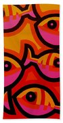 Funky Fish Iv Beach Towel