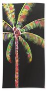 Funky Palm Tree Beach Towel