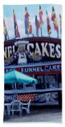 Funnel Cakes Beach Towel