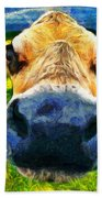 Funnycow Beach Towel