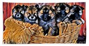 Fur Babies Beach Towel
