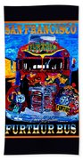 50th Anniversary Further Bus Tour Beach Towel