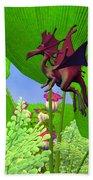 Fury Flying Dragon Beach Towel