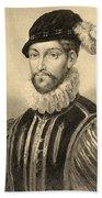 Gabriel De Lorges, Comte De Montgomery Beach Sheet
