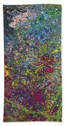 Galactic Spring_by Aatmica Beach Towel