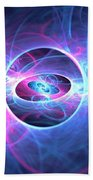Galaxy Atoms Beach Towel