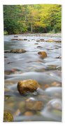 Gale River - Franconia New Hampshire  Beach Towel