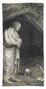 Galen, Greek Physician And Philosopher Beach Towel