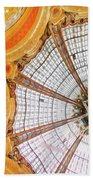 Galeries Lafayette Inside 3 Art Beach Towel