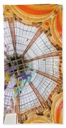 Galeries Lafayette Inside 4 Art Beach Towel