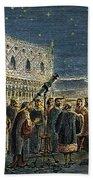 Galileo Galilei, 1564-1642 Beach Towel