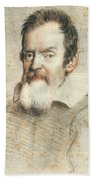 Galileo Galilei Beach Towel