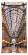 Galleria Milan Italy II Beach Towel