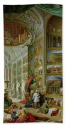 Gallery Of Views Of Ancient Rome Beach Towel