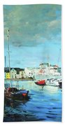 Galway Docks Beach Towel