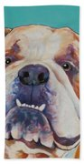 Game Face   Beach Towel