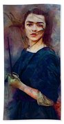Game Of Thrones. Arya Stark. Beach Towel