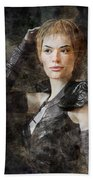 Game Of Thrones. Cersei Lannister. Beach Towel
