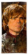 Game Of Thrones. Tyrion Lannister. Beach Towel