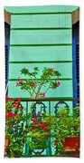 Garden Balcony Beach Towel