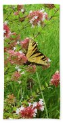 Garden Butterfly Beach Towel