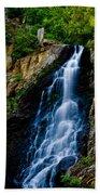 Garden Creek Falls Beach Towel