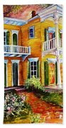Garden District Home  Beach Towel