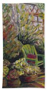 Garden Escape Beach Towel