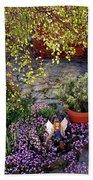 Garden Fairy Beach Towel