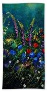 Garden Flowers 56 Beach Towel