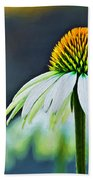 Bristle Flower Beach Towel