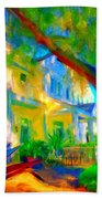 Garden House Beach Towel