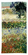Garden In Bloom Beach Towel