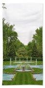 Italian Fountains Of The Garden Beach Towel