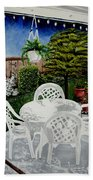 Garden Lights Beach Towel