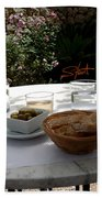 Garden Lunch Mallorca Beach Towel