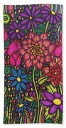 Garden Of Happiness  Beach Towel