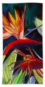 Garden Of Paradise Beach Towel