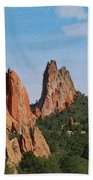 Garden Of The Gods Colorado De  Beach Towel