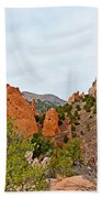 Garden Of The Gods Study 6 Beach Towel