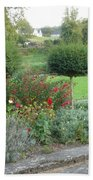 Garden On The Banks Of The Nore Beach Towel