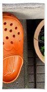 Garden Shoes Beach Towel