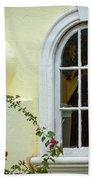Garden Window Beach Towel by Todd Blanchard