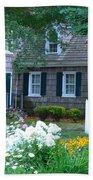 Gardens At The Burton-ingram House - Lewes Delaware Beach Towel