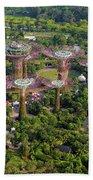 Gardens By The Bay Beach Towel