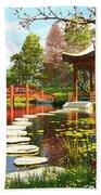 Gardens Of Fuji Beach Sheet