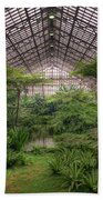Garfield Park Conservatory Main Pond Beach Towel