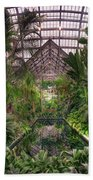 Garfield Park Conservatory Reflecting Pool Beach Towel