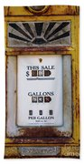 Gas Pump Beach Towel