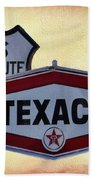Gasoline Signs Beach Towel
